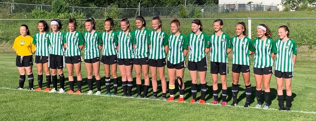 Girls 2005 Green Team – Premier 3 Champions