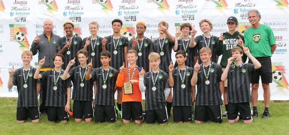 Boys 2005 Green Team – Premier 3 Champions