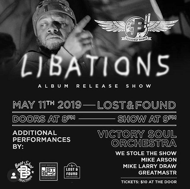 #libations 🥃 all new tunes