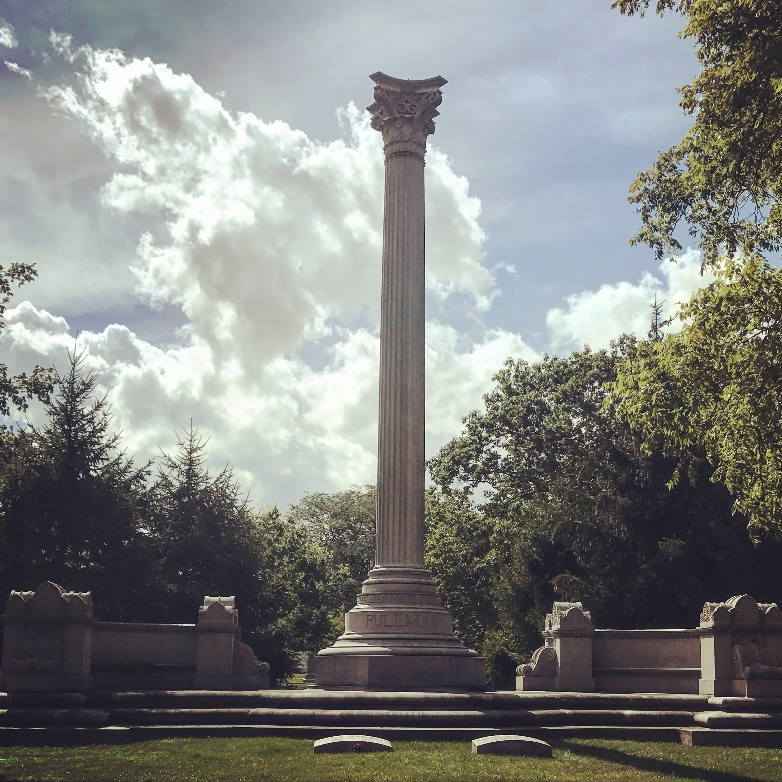 George Pullman Monument by Solon Beman