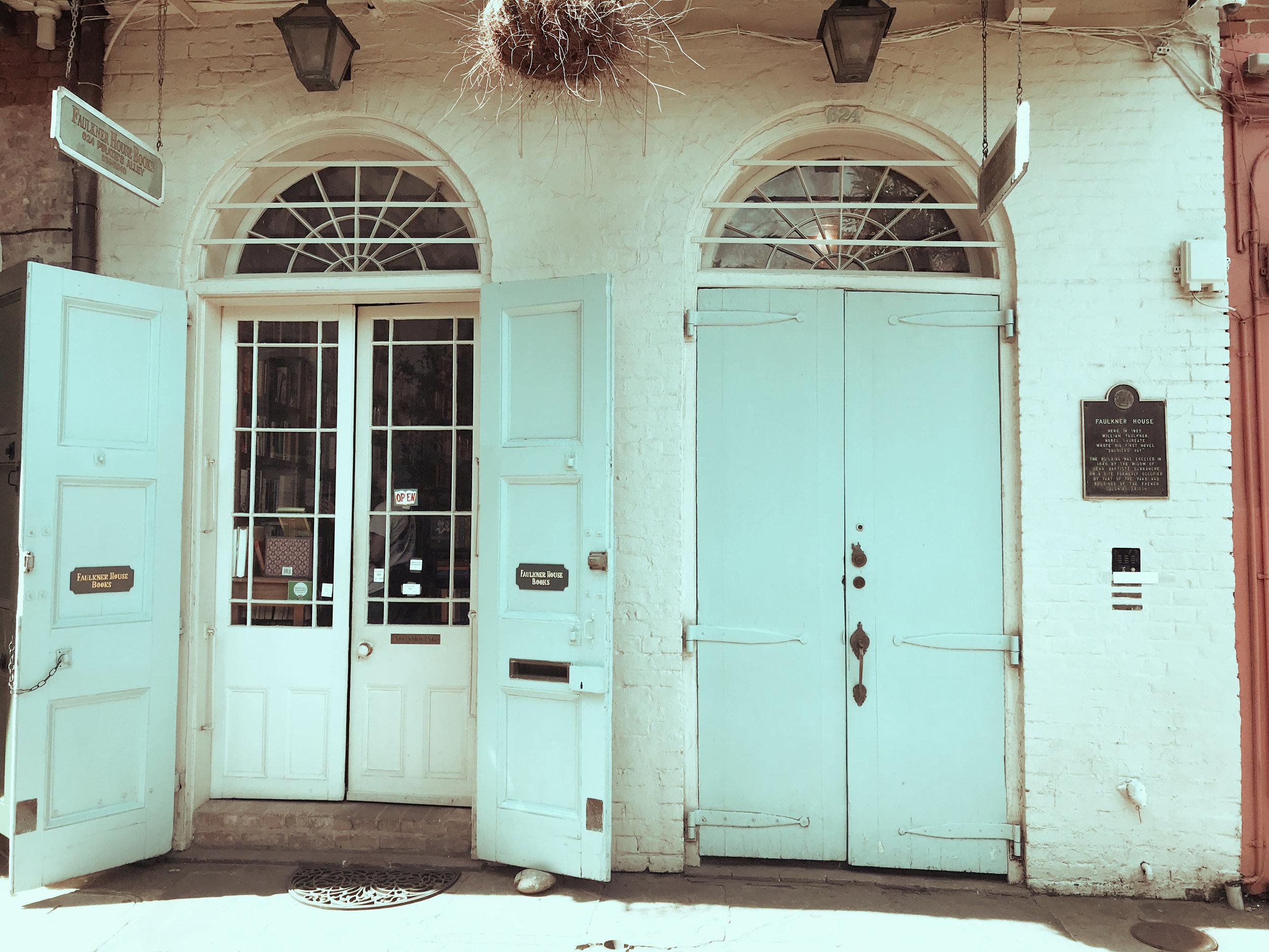Faulkner's former residence now Faulkner House Books.