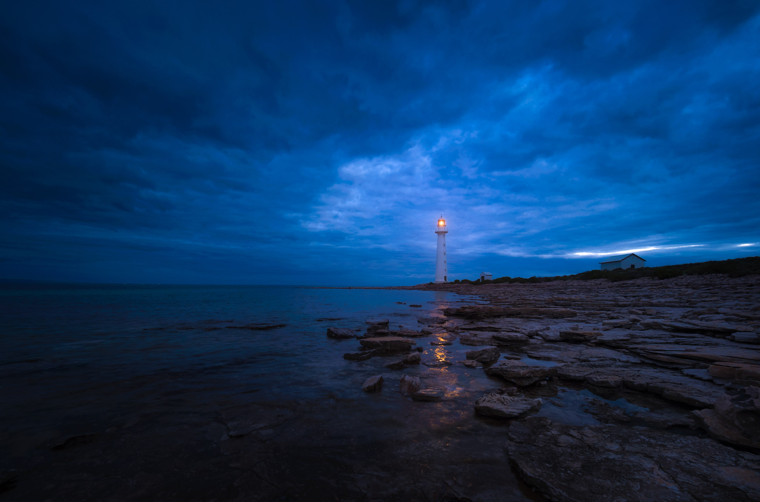 Blue hour @ Point Lowly