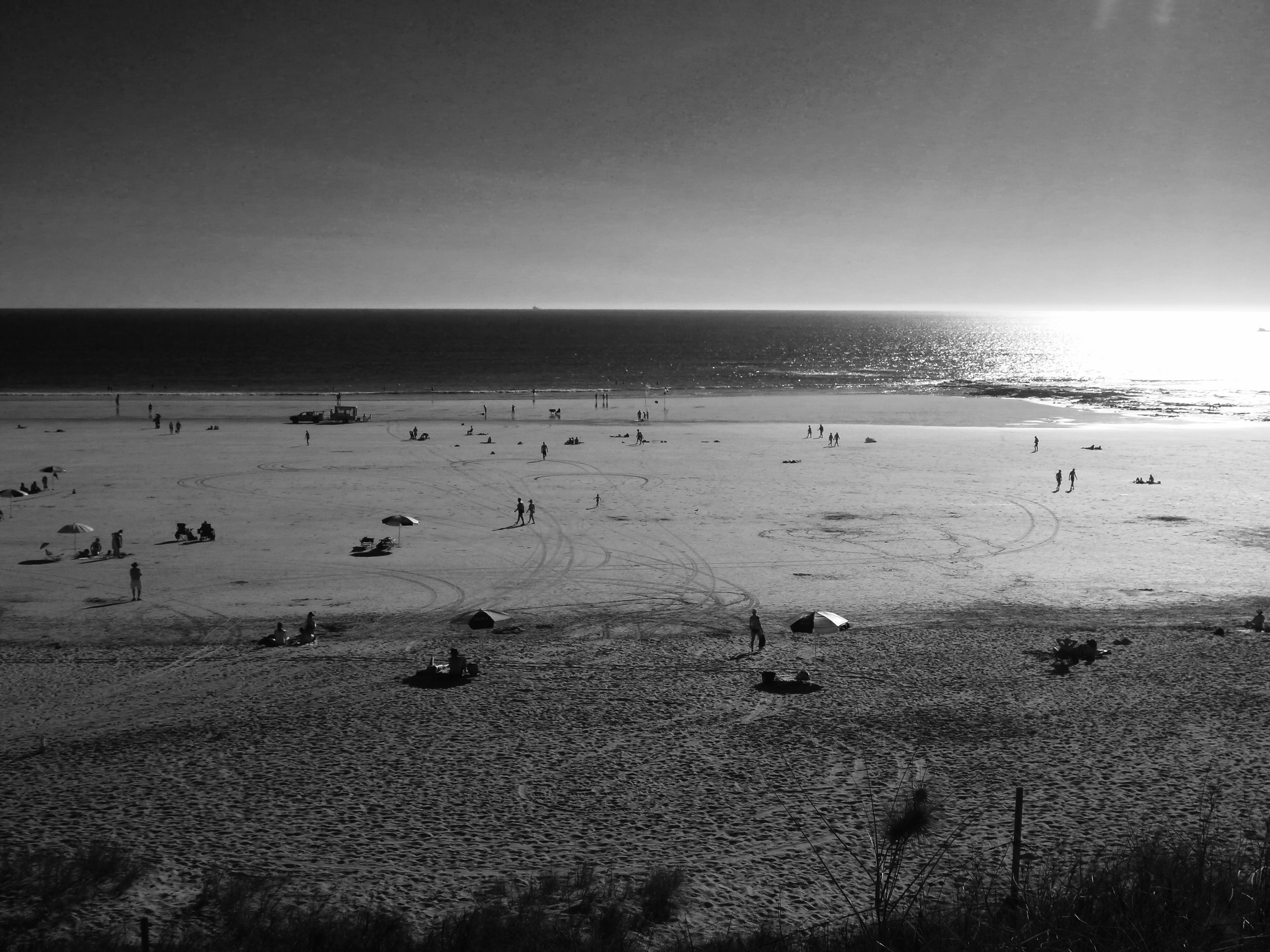 The famous Cable Beach in Broome, WA, where I thought my husband died....