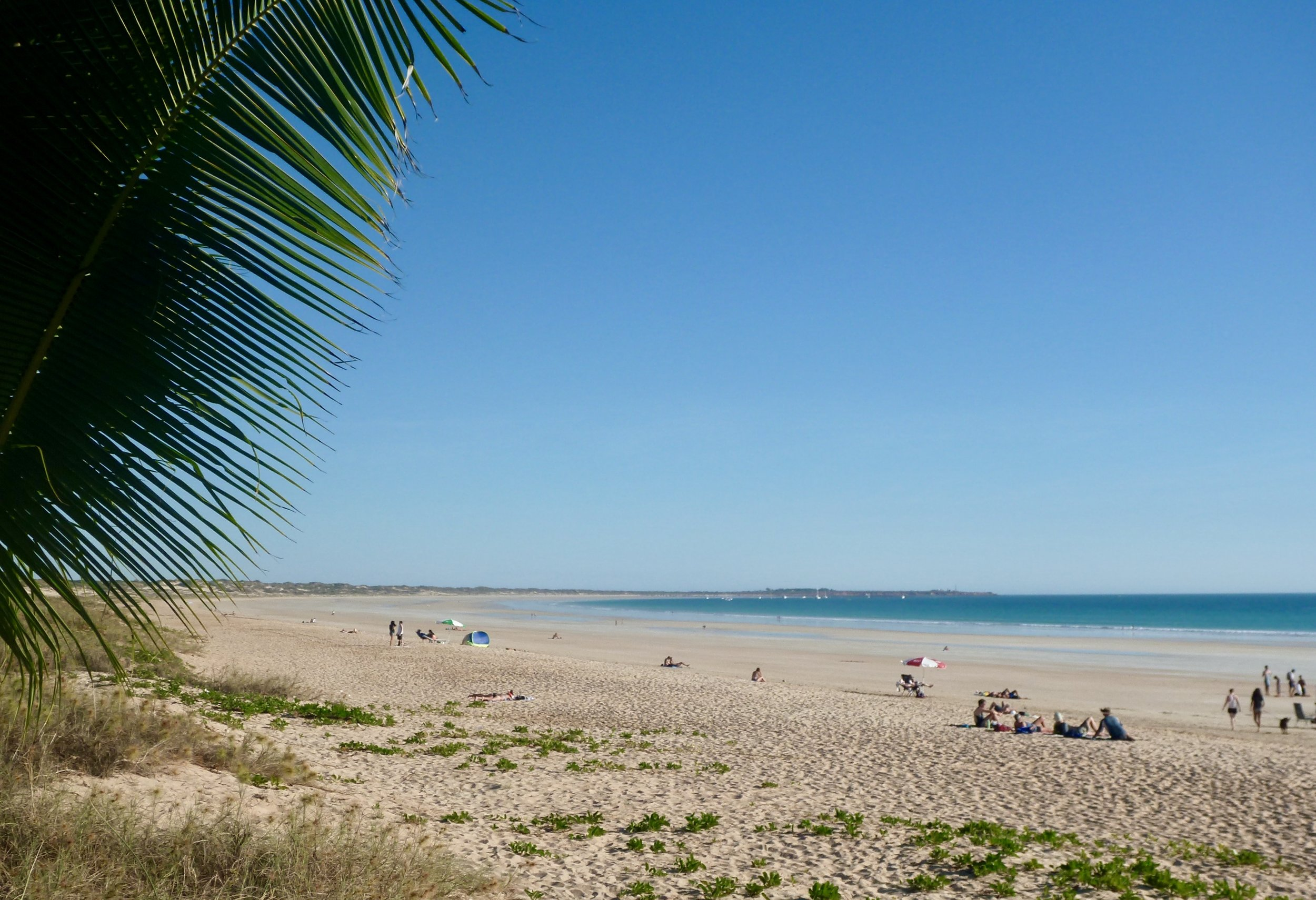 The beautiful expansive Cable Beach - little did I know I would experience such devastating momentary loss in paradise