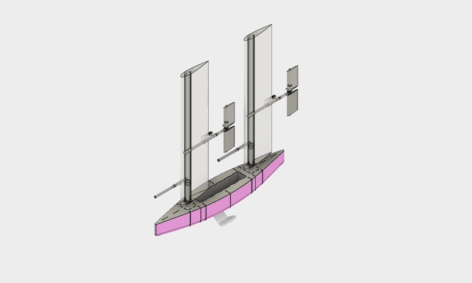 Microtransat Challenge design