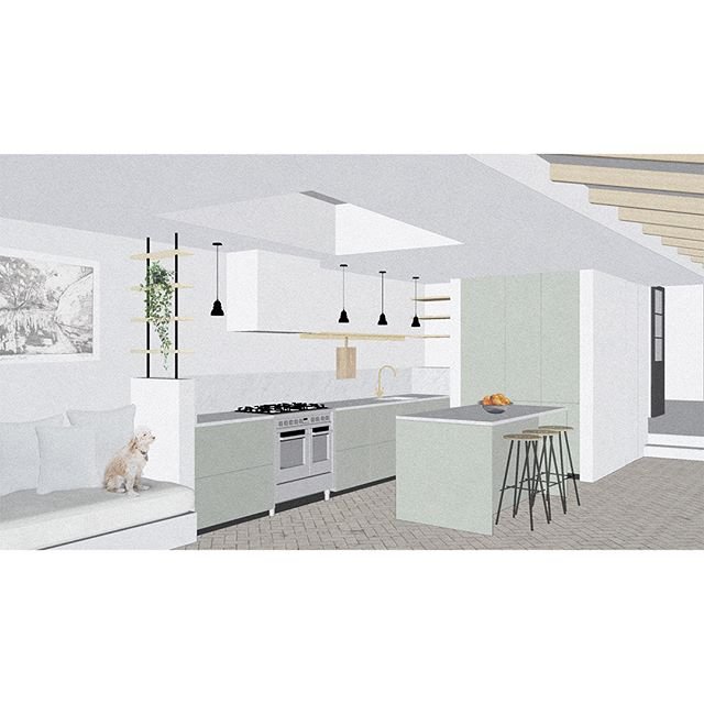 Our Herne Hill project, currently out for tender.  Excited to get started on site next month!⁣ ⁣.⁣ ⁣.⁣ ⁣.⁣ ⁣.⁣ ⁣.⁣ ⁣.⁣ ⁣.⁣ ⁣.⁣ ⁣#architecture #london #collage #kitchen #refurbishment #extension #hernehill #brixton #archidogs #dezeen #architecturelovers #homerenovation #brickpavers