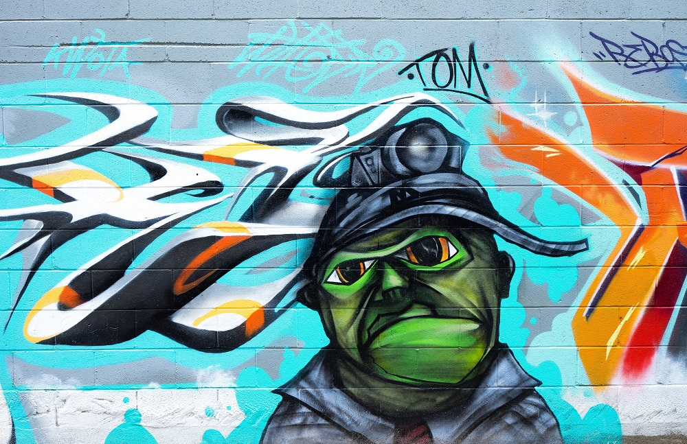 Street art has become a respected genre of contemporary art in recent years