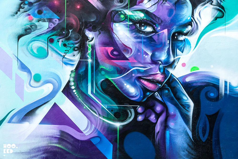 Mr Cenz has been scribbling on surfaces since 1988 -