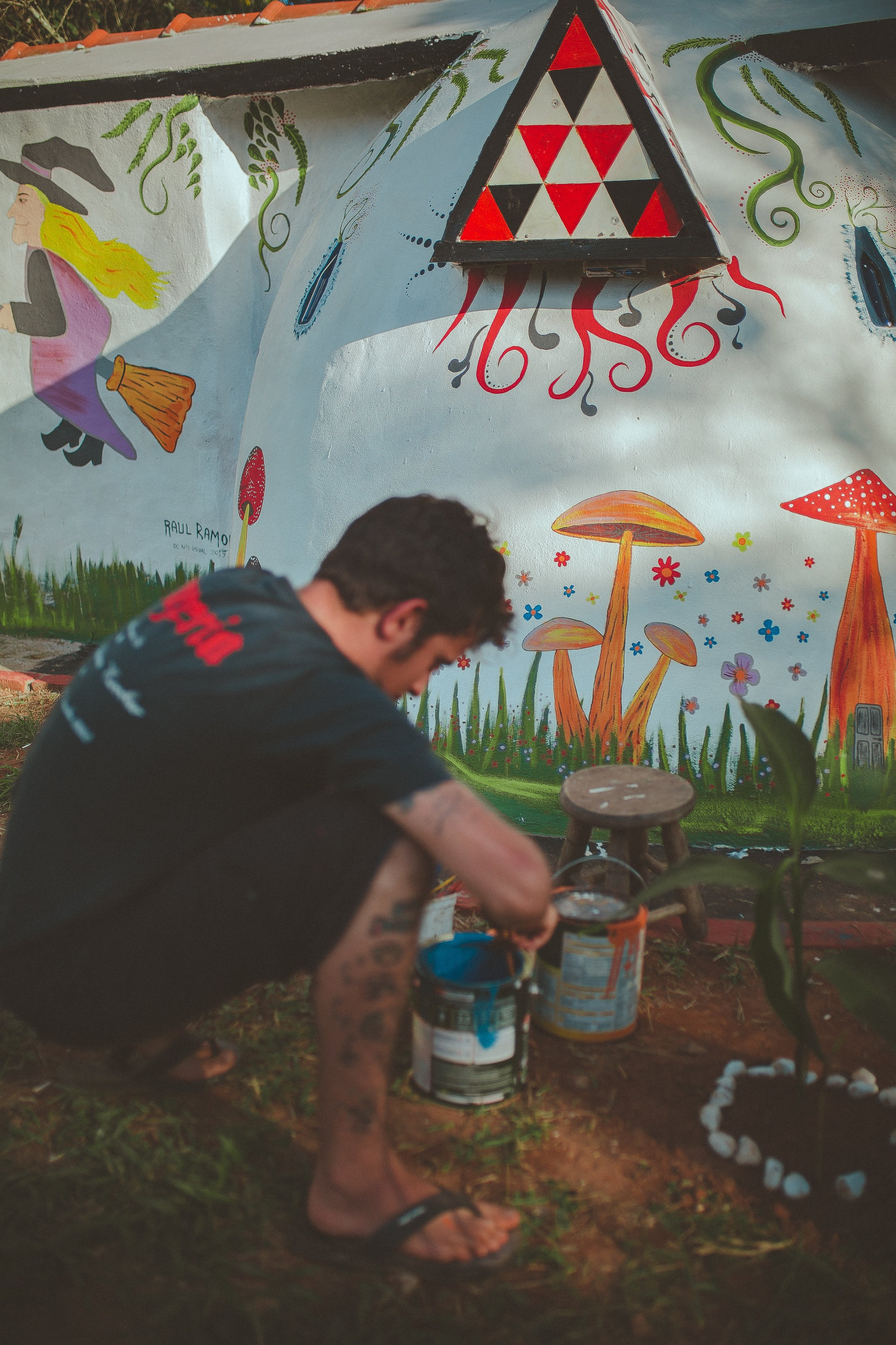 Art festivals are a great way to completely immerse yourself in the culture and process of artwork -