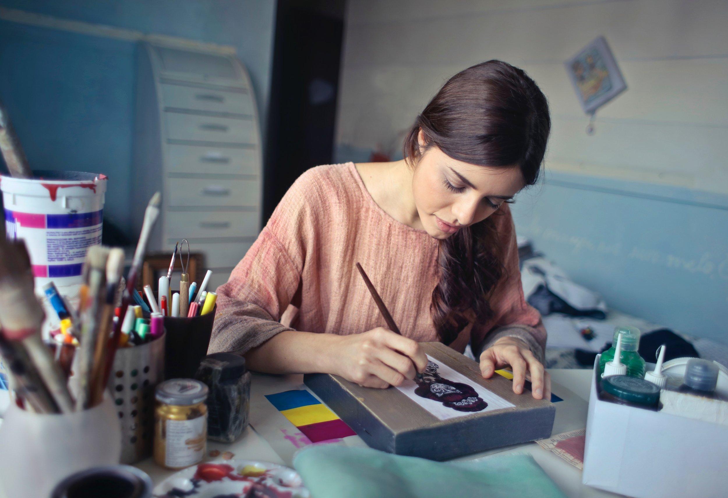 """Creativity takes courage"" Henri Matisse -"