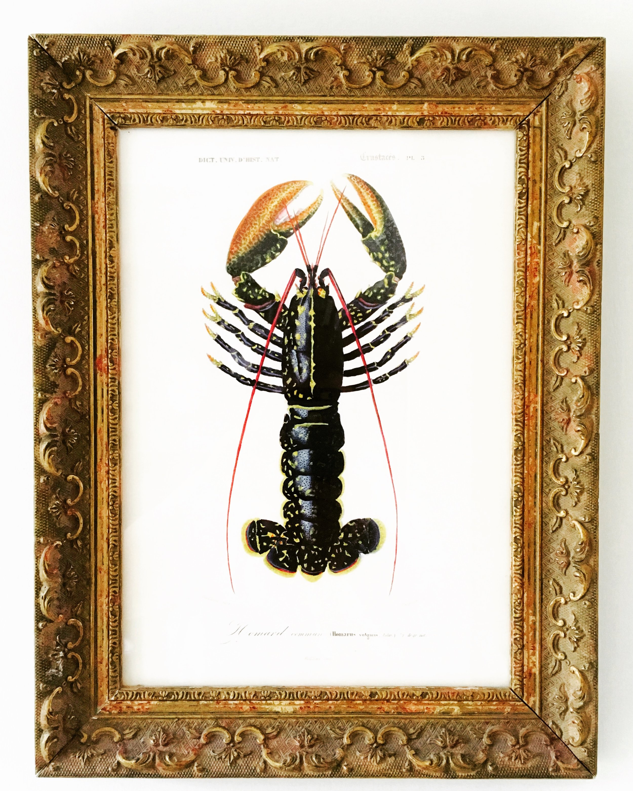 The frame should complement the artwork, not upstage it. -