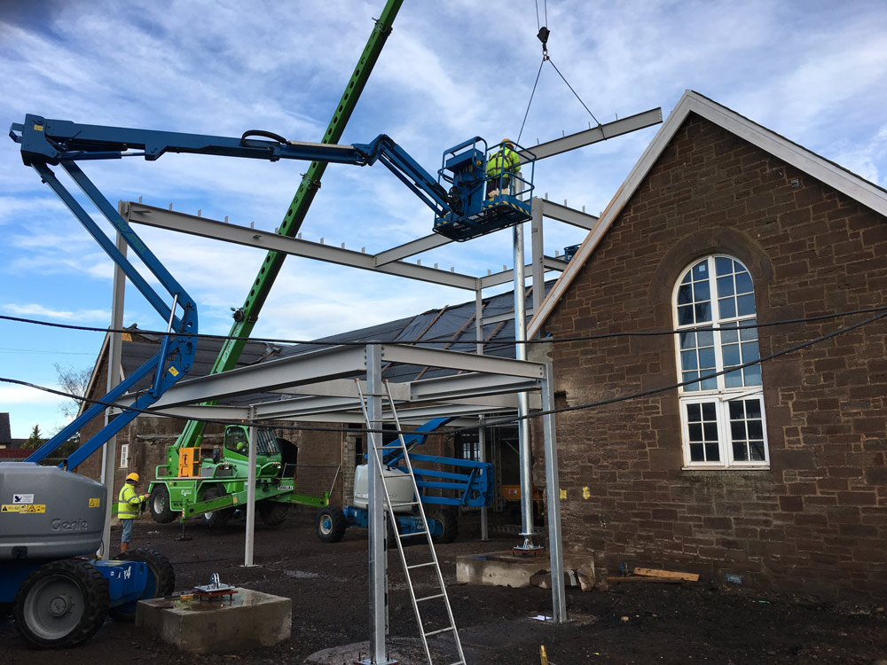 Friockhub Steel Erecting 1