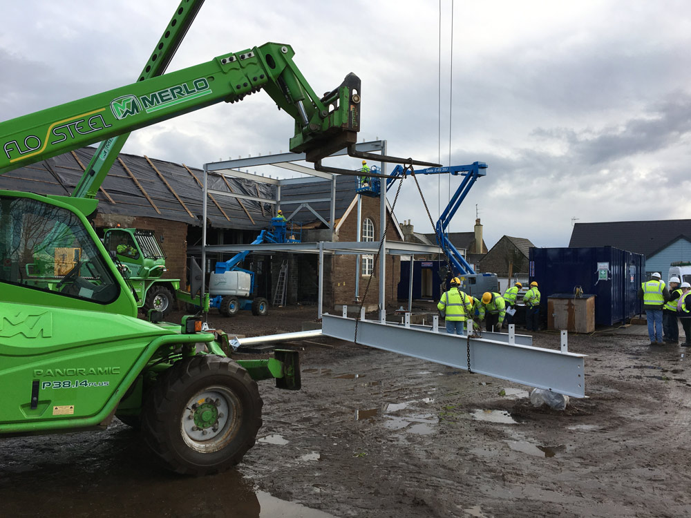 Friock hub Steel Erecting 2