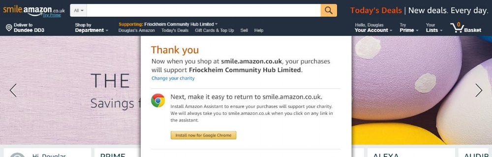 FriockHub Amazon Smile