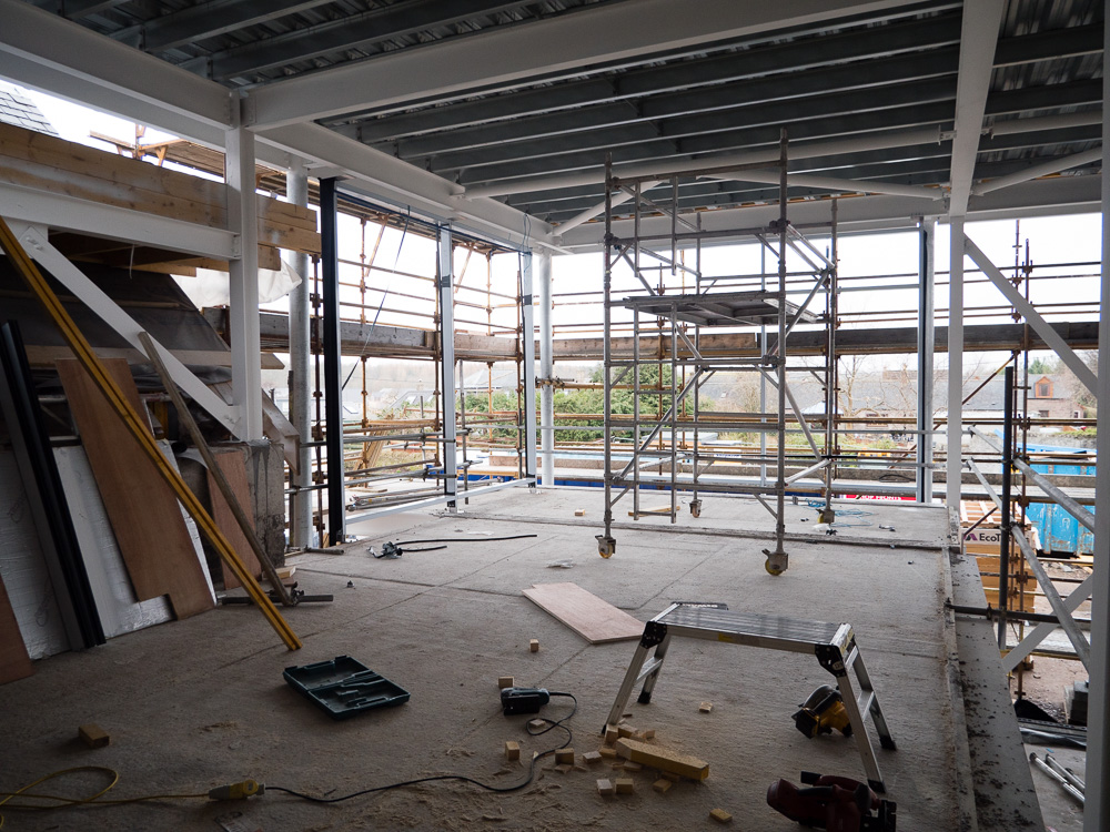 Fitness suite & exhibition space