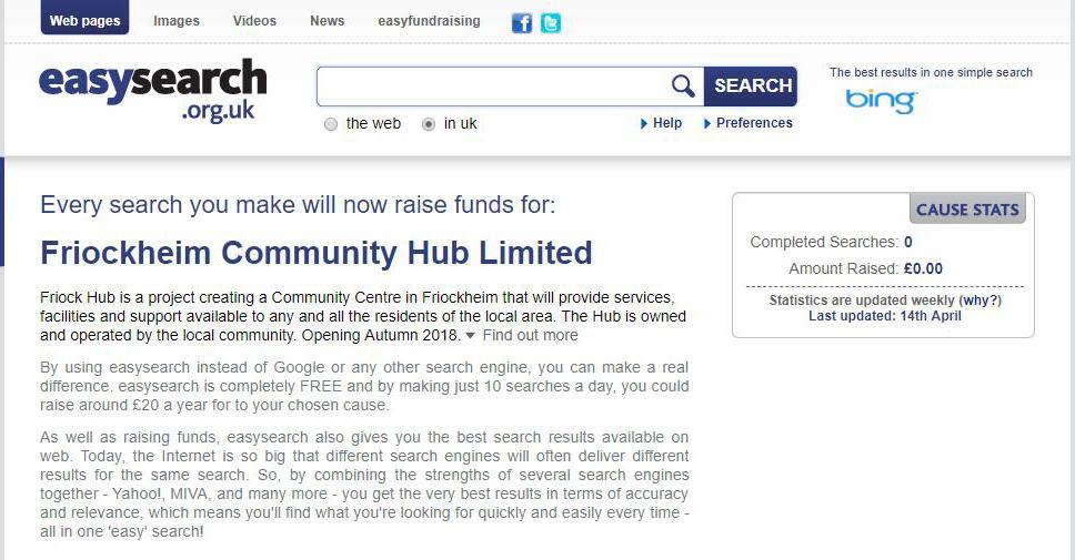 friock Hub fundraising