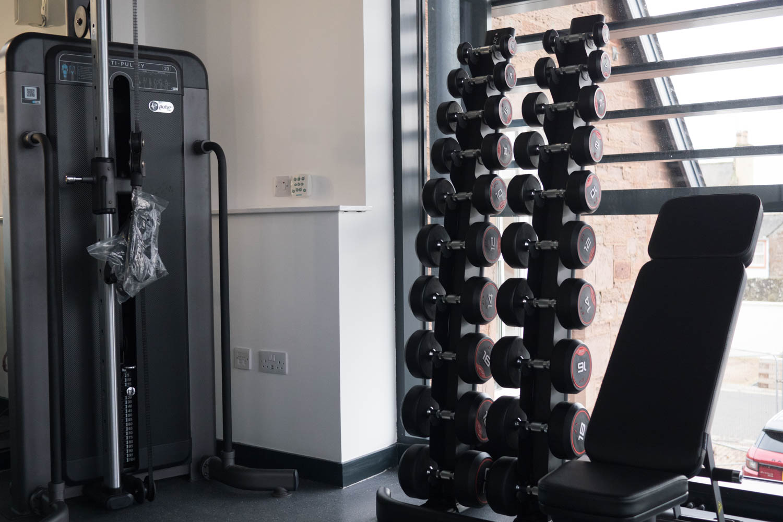 gym fitness suite friockheim