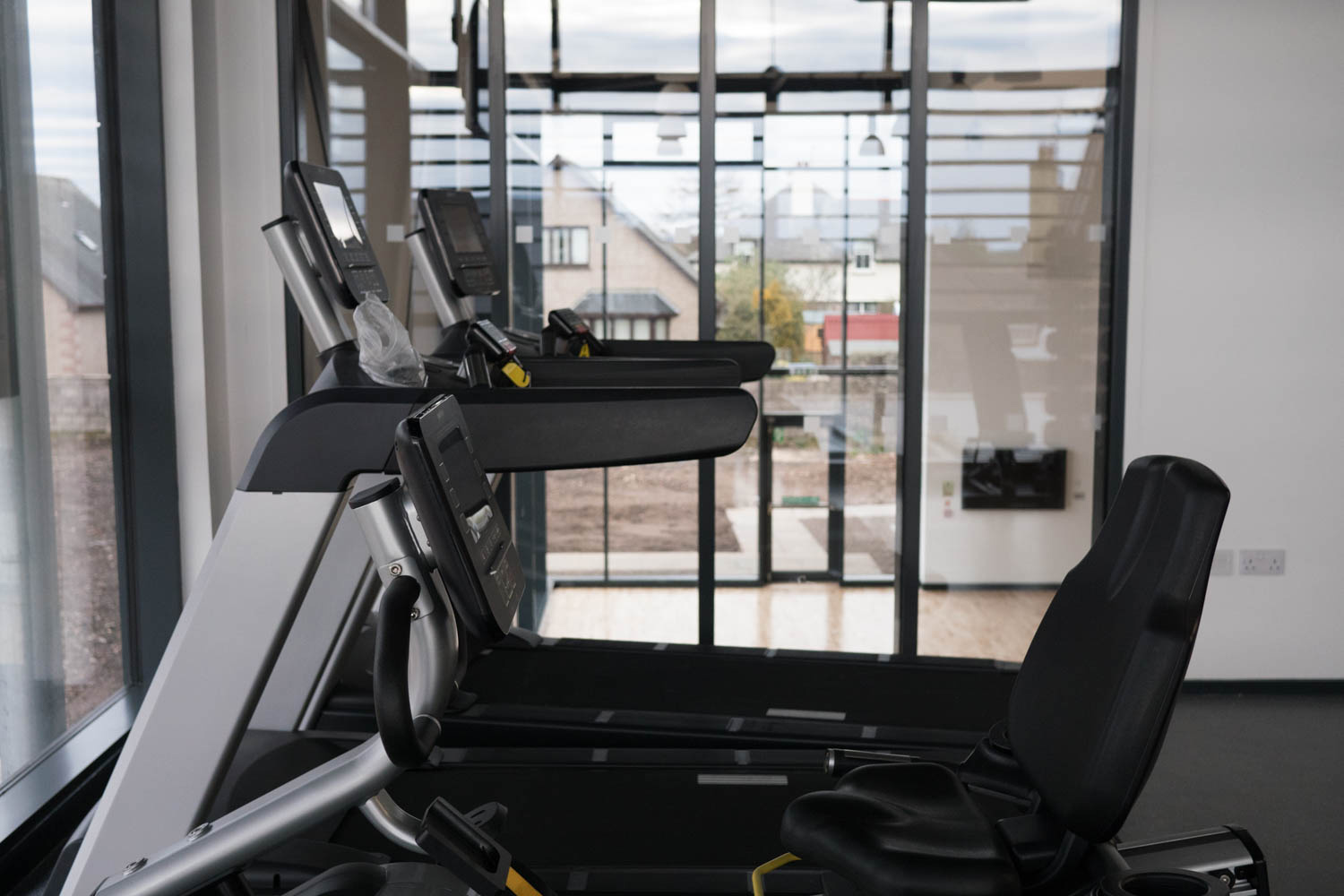Exercise Equipment at the Hub