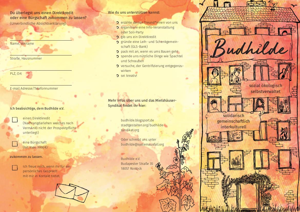Budhilde Leaflet