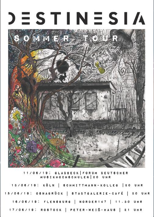 Destinesia Summer tour poster