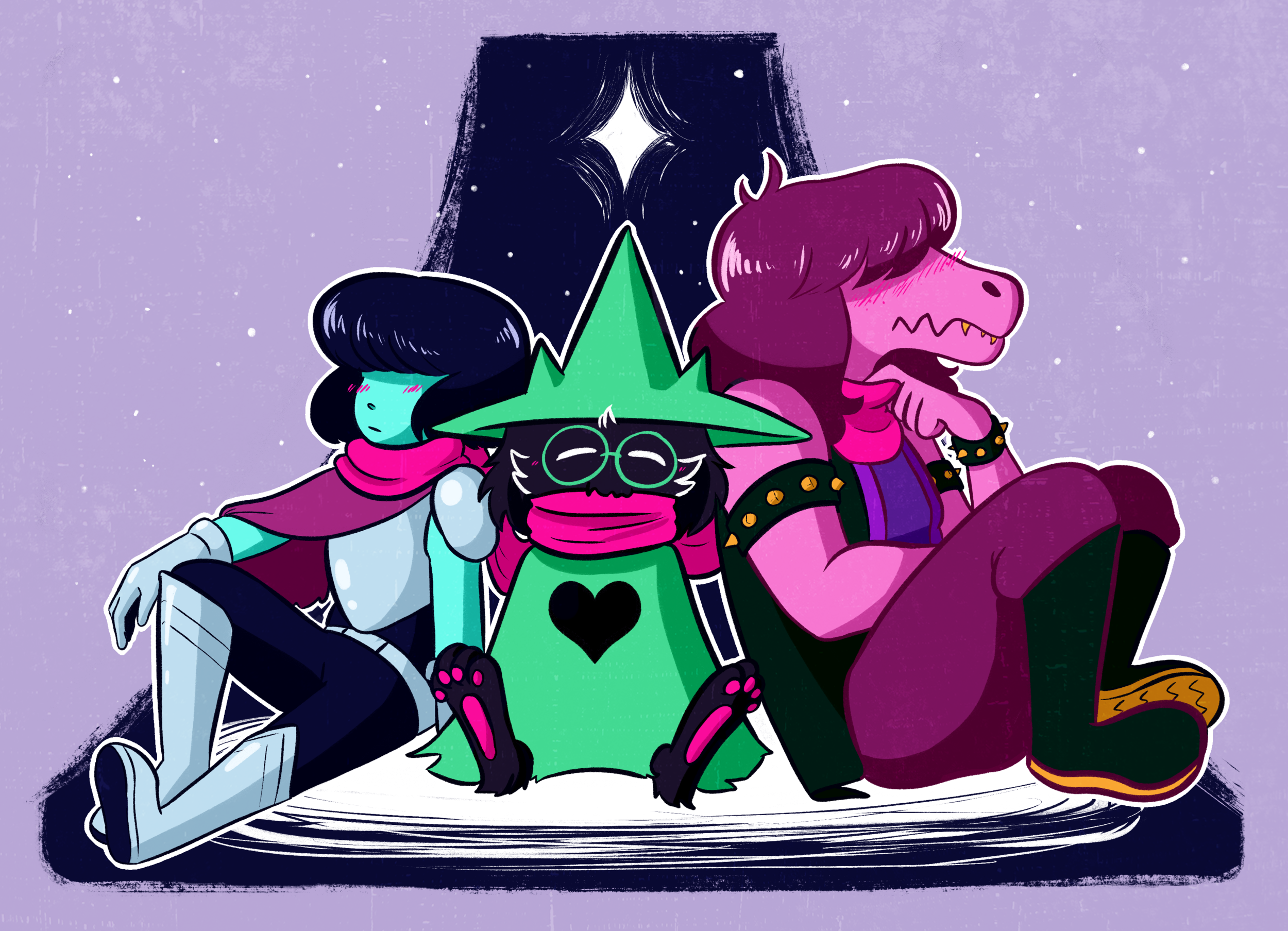 deltarune scarf sharing.png