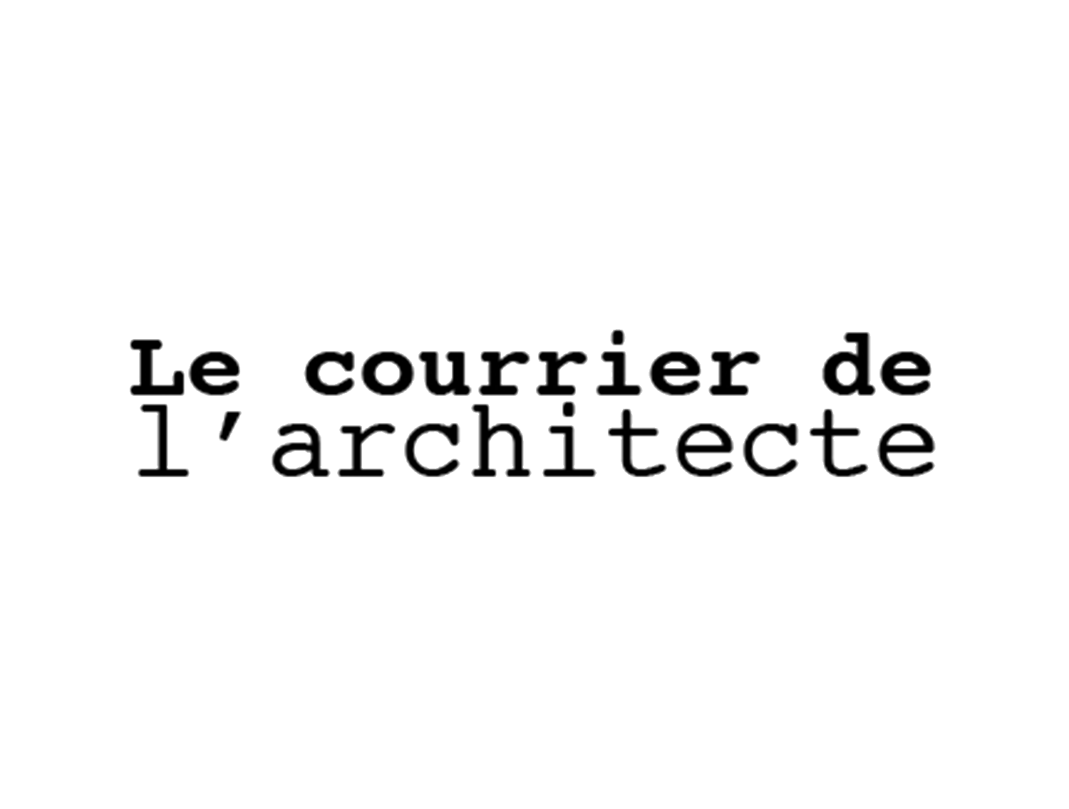 recp - JAN. 2018 | Le courrier de l'architecte publishes its annaul recap featuring some of the office's projects from 2017