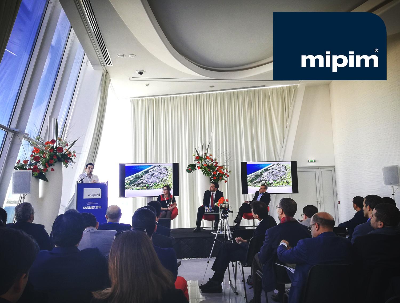 EVNT - MAR. 2018 | Tarik Oualalou presents the new City of Mazagan at MIPIM 2018 — thanks to the Casablanca stand