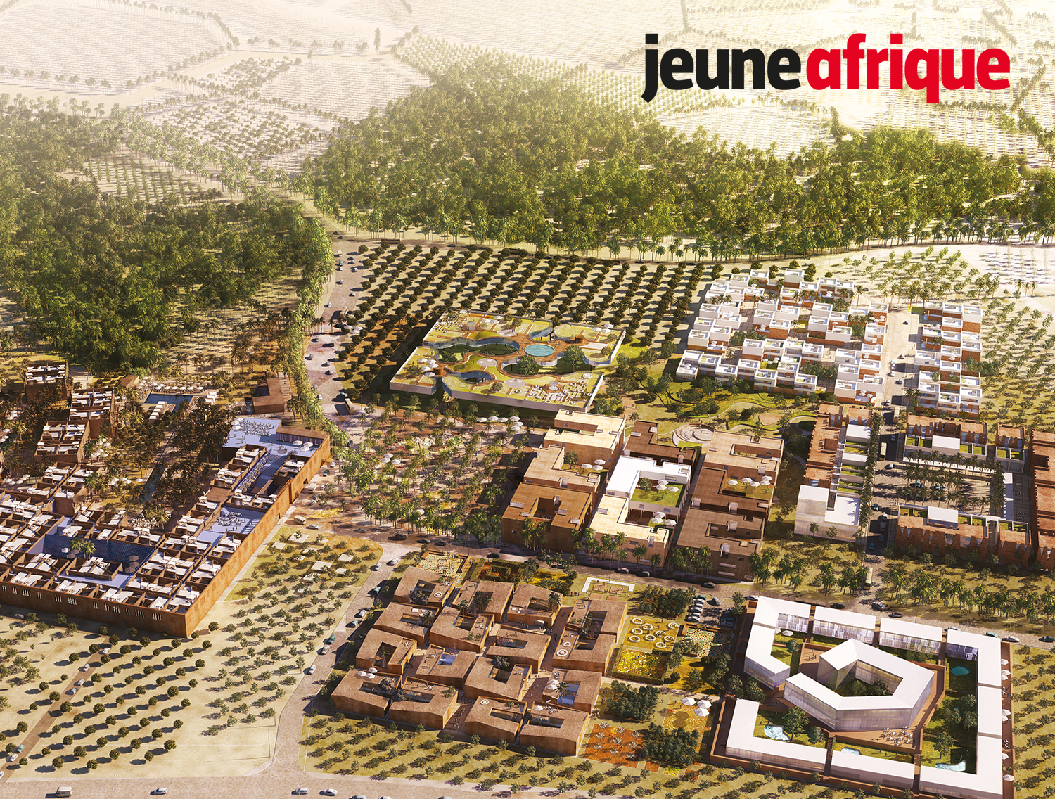 J.afr - JULY 2019 | Jeune Afrique's Katia Dansoko Touré sits down with Tarik Oualalou to discuss his ethos, vision for African cities, and several ongoing projects — on newsstands everywhere!