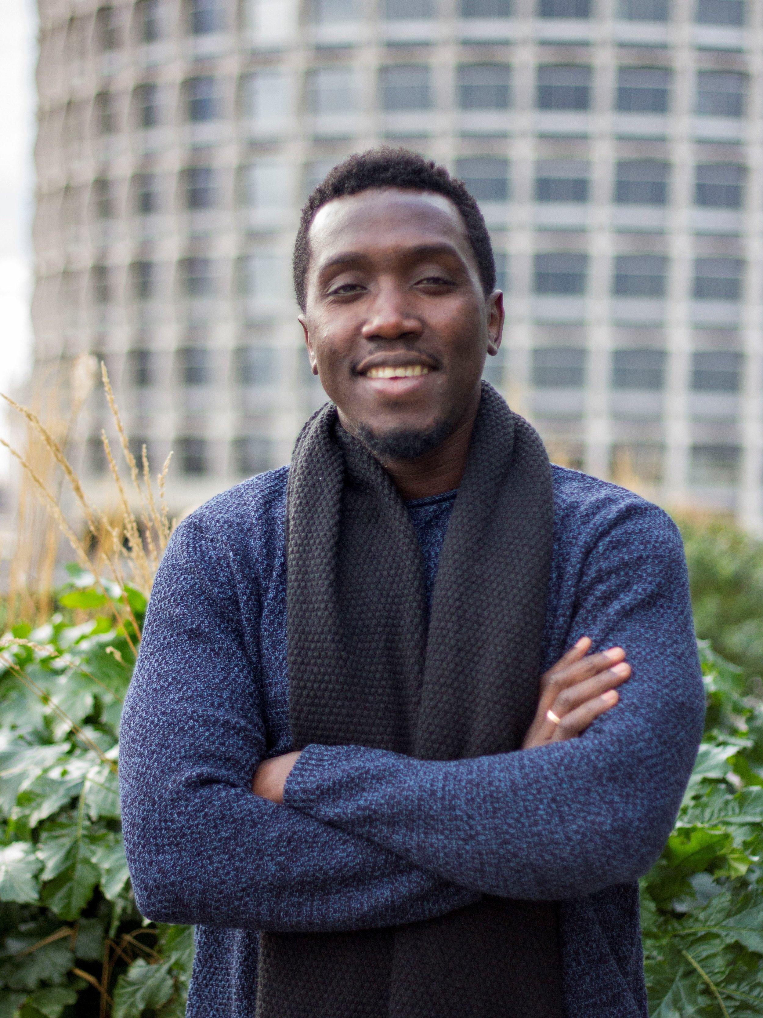 Louis Oyaro - Living in: Heidelberg, GermanyNationality: Ugandan