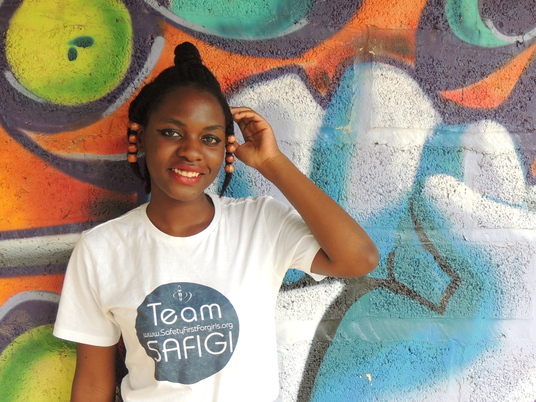 Esther Mwema - Founder, Safety First for Girls Outreach Foundation (SAFIGI) Nationality: CongoleseLiving in: Lusaka, ZambiaFields of work: gender, human rights, media/journalism, internet governance, safety