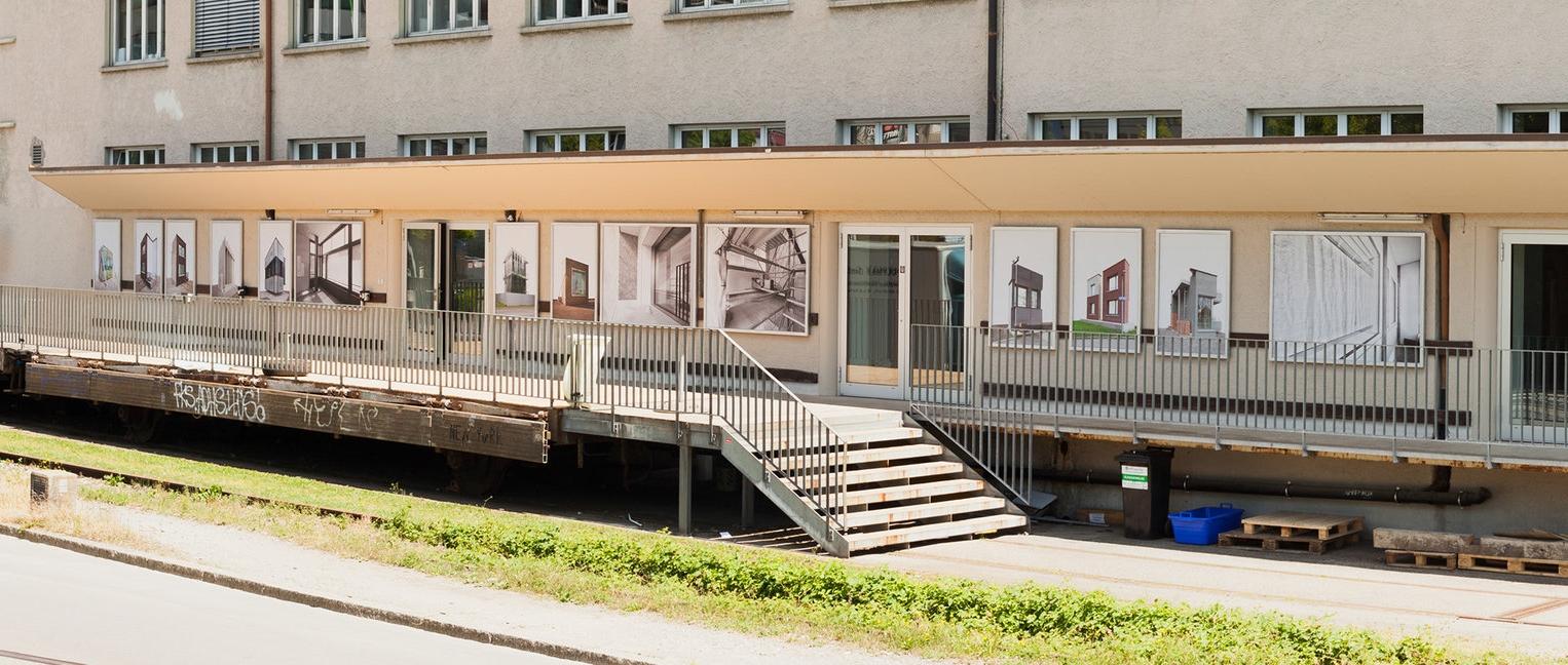 Instalationview at Art Altstetten Albisrieden Public Art Festival, 2015
