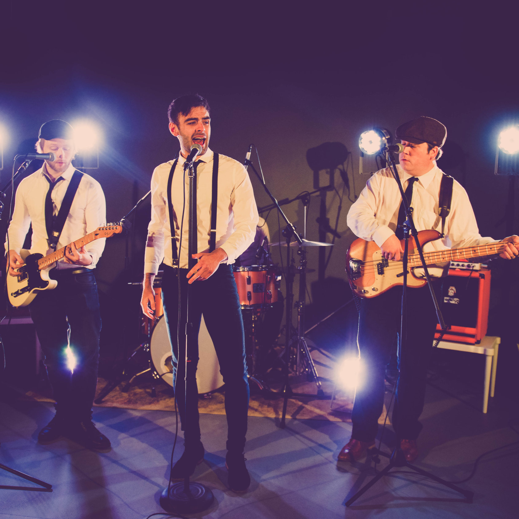 THE SWING - Sophisticated and stylish male fronted four-piece swing & pop band that will take you back in time with a varied repertoire including swing, pop and floor filling classics.