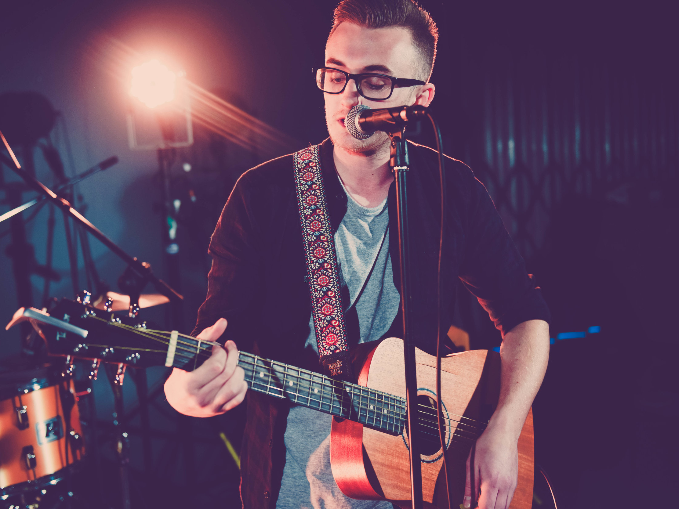 Sam Jones - Sam is an experienced wedding musician. He is part of our band Three Strikes, making him the perfect addition to your wedding day. With plenty of live experience, he is a brilliant solo musician.