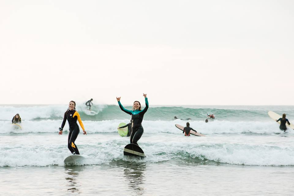 Photo from Women + Waves Surf Club
