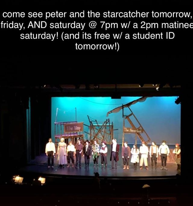 Our Spring Show opens TOMORROW NIGHT!!! It is also Free Student Night, so all SMN students can get into the show for free with a student ID!