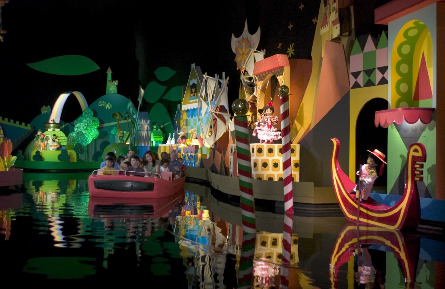 Disneyworld ride 'It's a Small World'