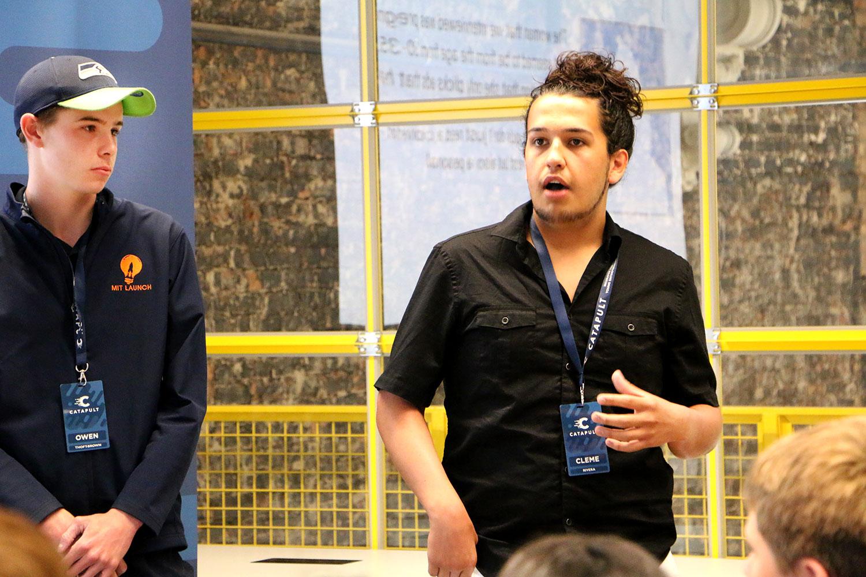 Catapult Incubator,  Power Your Potential,  Young Entrepreneurs,  High School Entrepreneurial Program,  Startup, Clemente Rivera