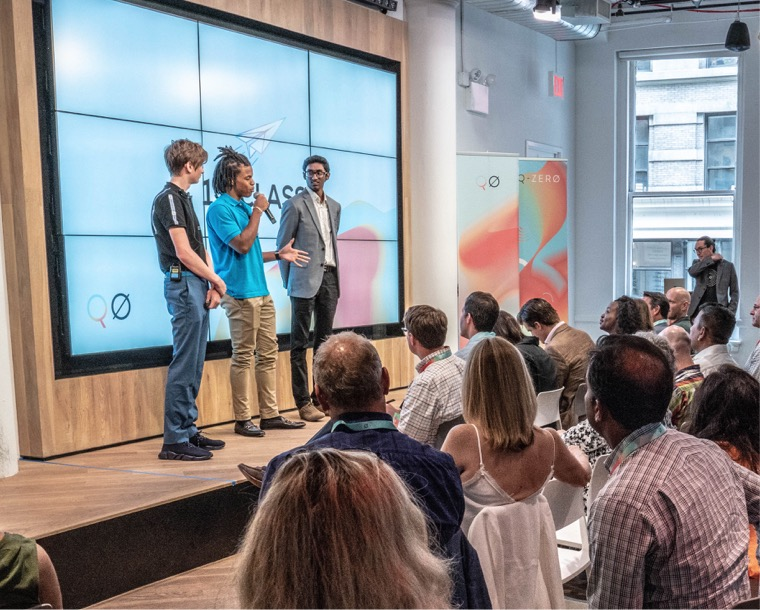 Catapult Incubator Highlights - Incubate your startup idea or join a team• NYC, CHI, & Silicon Valley• Develop & pitch a startup• Get real experience• Learn from entrepreneurs• Ongoing support by QØ