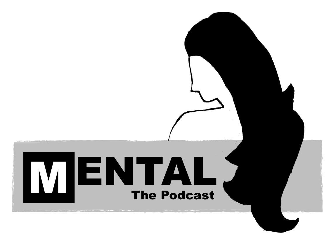 The standard  Mental The Podcast  logo.