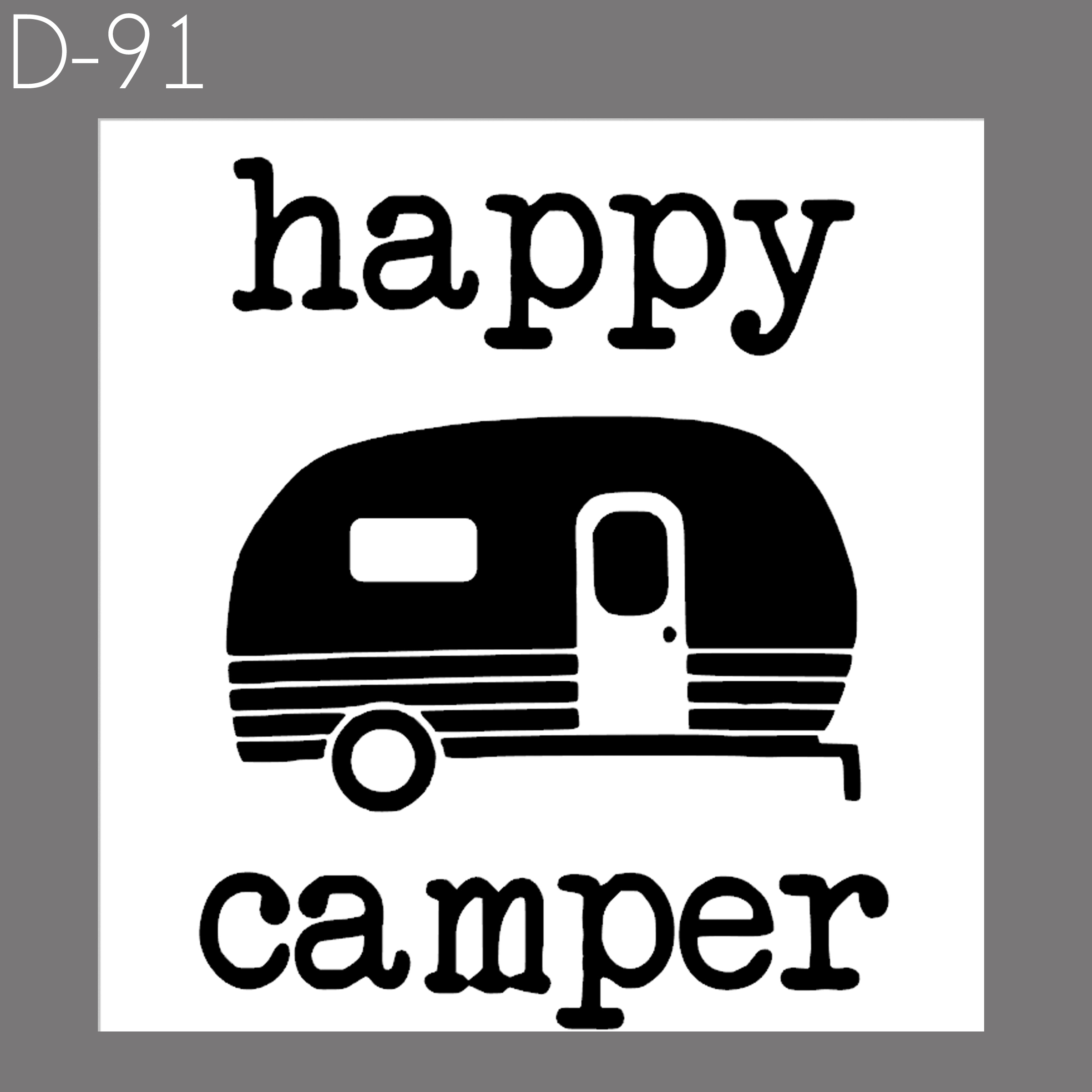 Happy Camper | $30