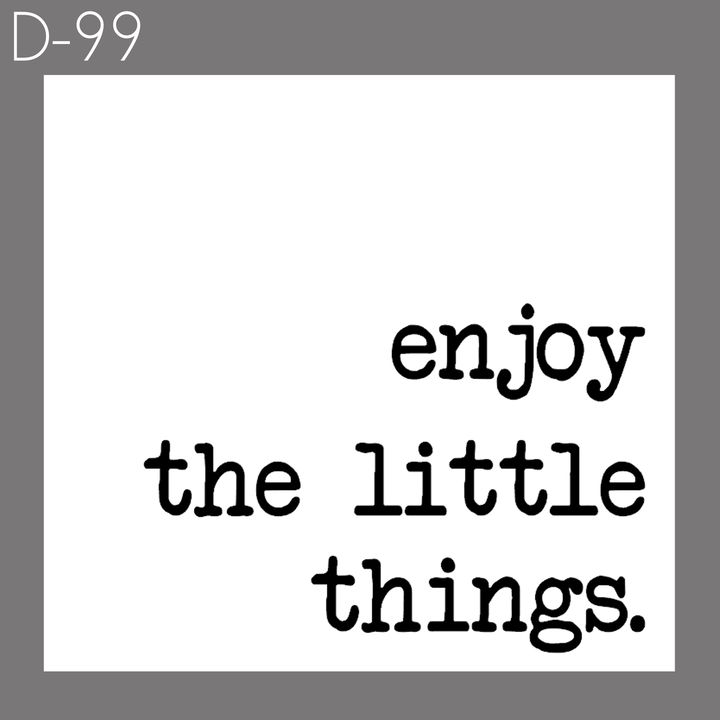 Little Things | $30