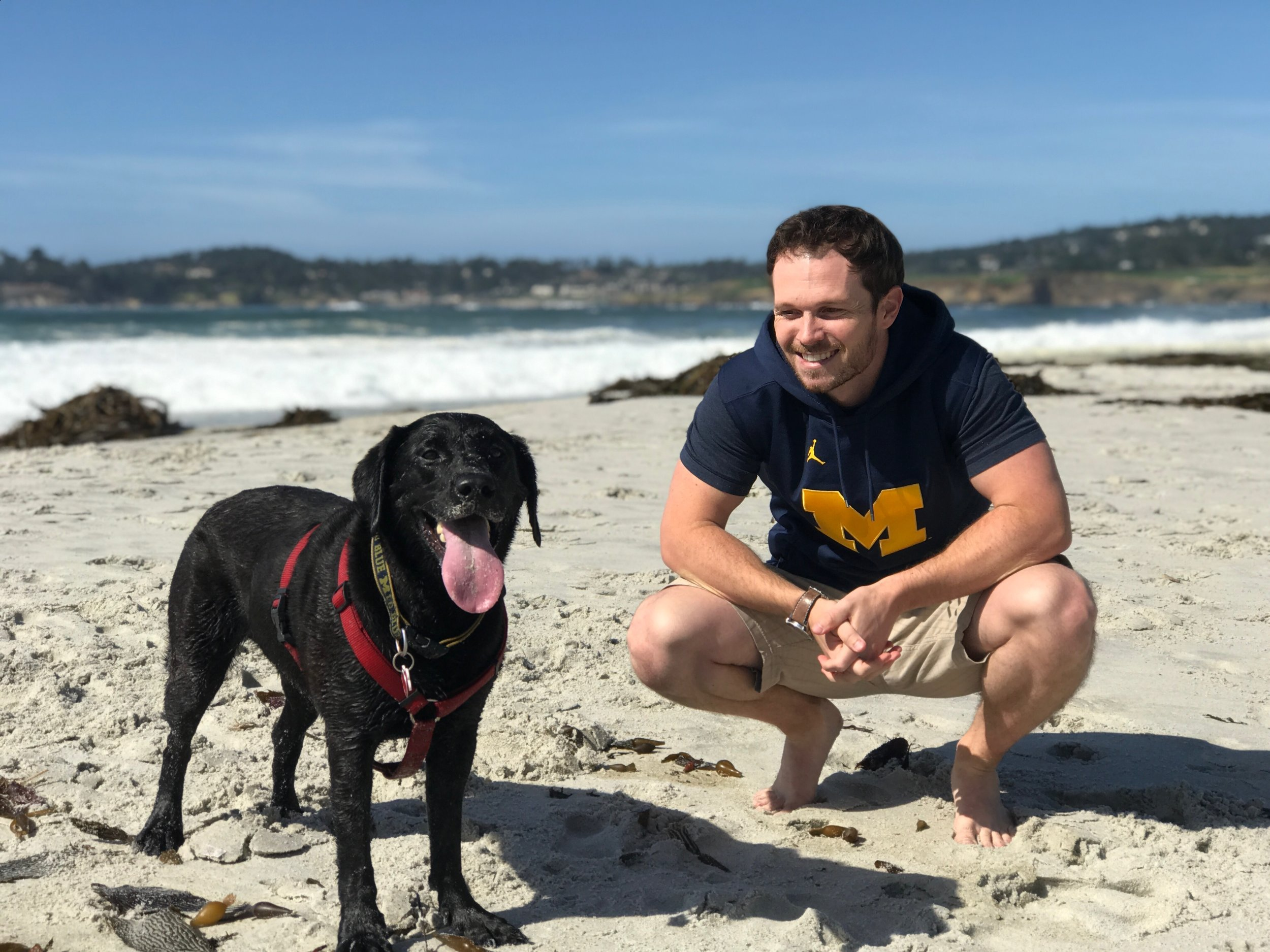 Ben Herrmann - HEAD OF OPERATIONS & STRATEGYBen is a Bay area native that currently works in Supply Chain at Tesla. He adopted his furbaby Midnight in 2012 (funny enough this is when he met Monica, the founder of MO4PAWS!) Midnight is a black lab that loves fetch more than she loves food (seriously). In their free time you can find Midnight and Ben hiking the local trails in the bay area, jumping into the pool to cool off, or snuggling on the couch with some good Netflix.At MO4PAWS, Ben serves on the board focusing on partner outreach and business development. Ben has always had a compassion for dogs and animals. When Monica approached him about helping this cause, he asked how and what he could do to help. Monica's passion for helping animals was contagious and furthered his desire to join!