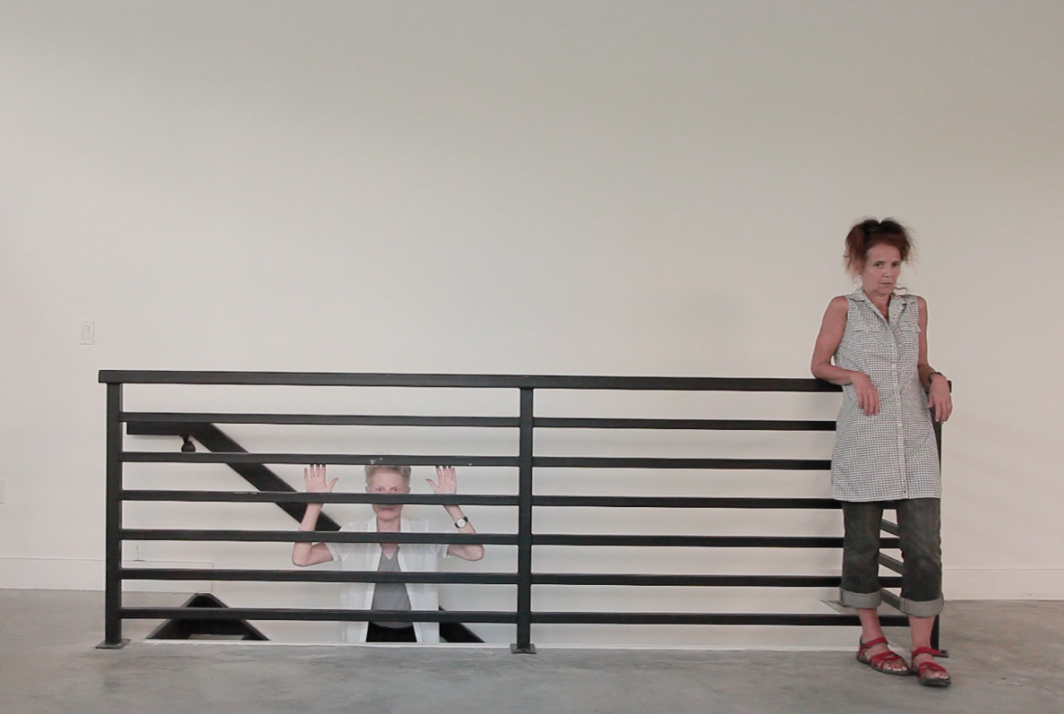 Baumgartner collaborated with dancers Meg Harper, Jon Kinzel, Vicky Shick and Keith Sabado, all of whom are in their late 40s to early 70s, to explore how contemporary dance indulges the eternal cult of youth in her performance  Nothing Else .