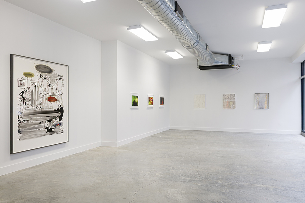 Barbarian in the Garden  was curated by Mary Simpson and included works by Simpson, Jimmy DeSana,David Maljkovic and Shahryar Nashat.