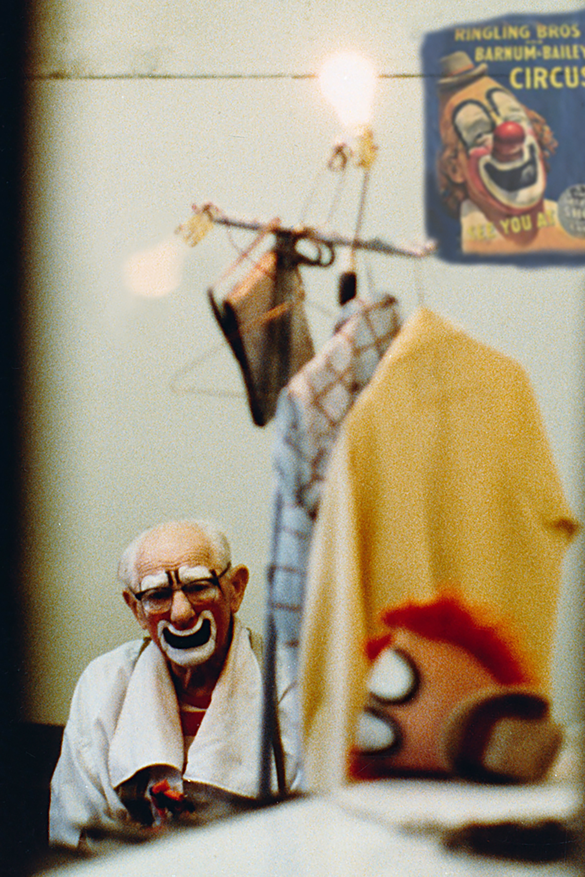 LOU JACOBS, OLDEST RINGLING CLOWN