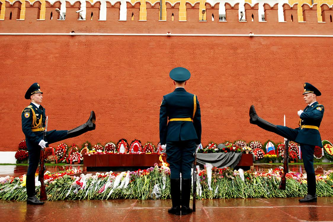 CHANGING GUARD, MOSCOW