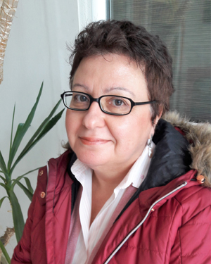 """Thea Maina-Nock (Demokritos), an expert in radiopharmaceutical development and translational research, has agreed to give a joint key lecture with Marion De Jong on  """"Theranostic Radiopeptides in Cancer: From bench to bed (part 1)  and  From bed back to bench (part 2)."""""""
