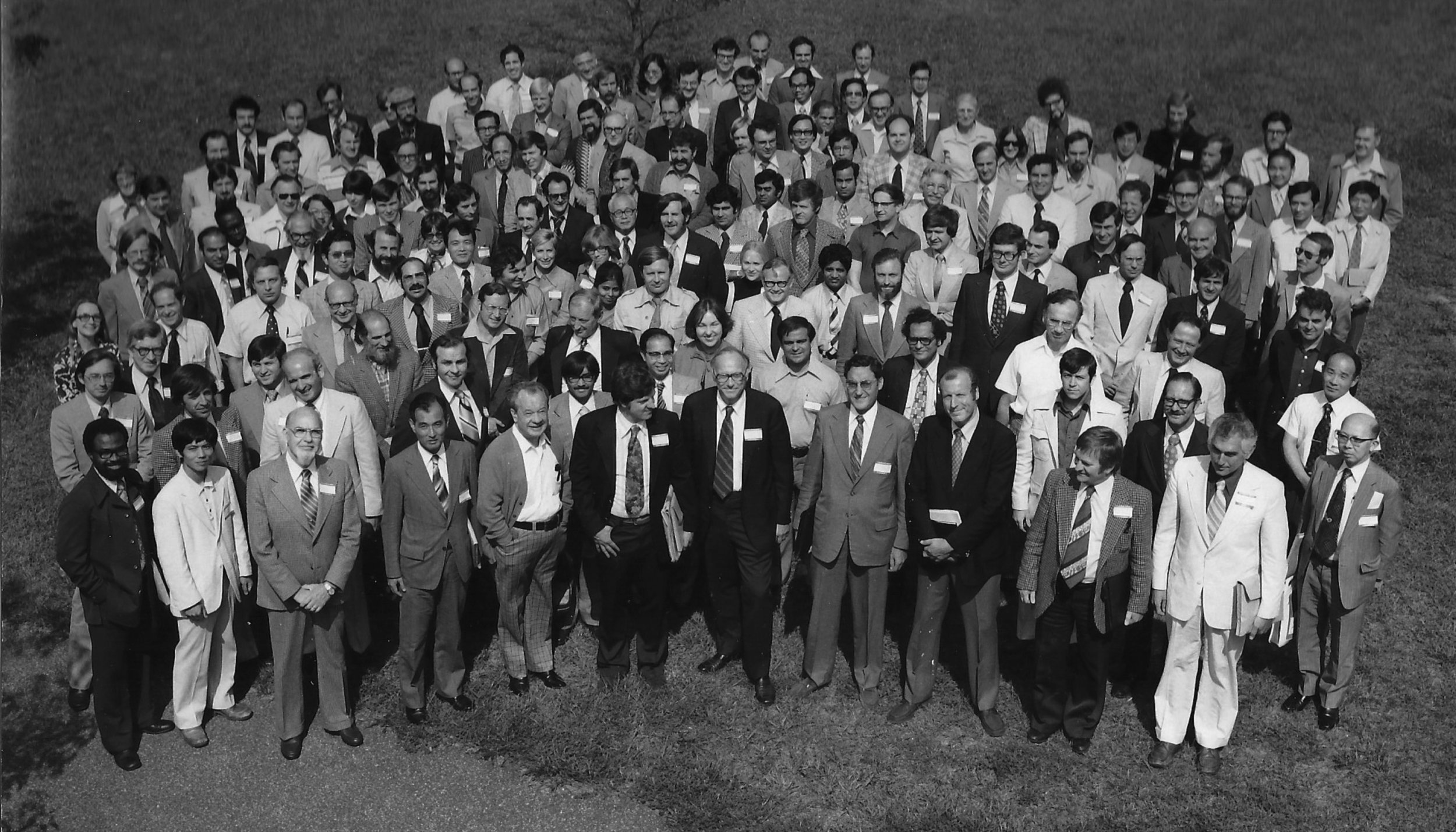 The first International Symposium on Radiopharmaceutical Chemistry in Brookhaven, 1976.