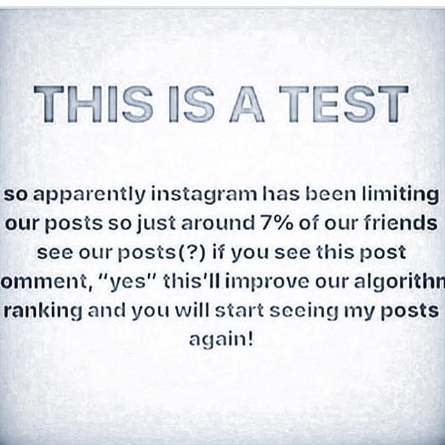 Barely get likes and comments as it is so why not