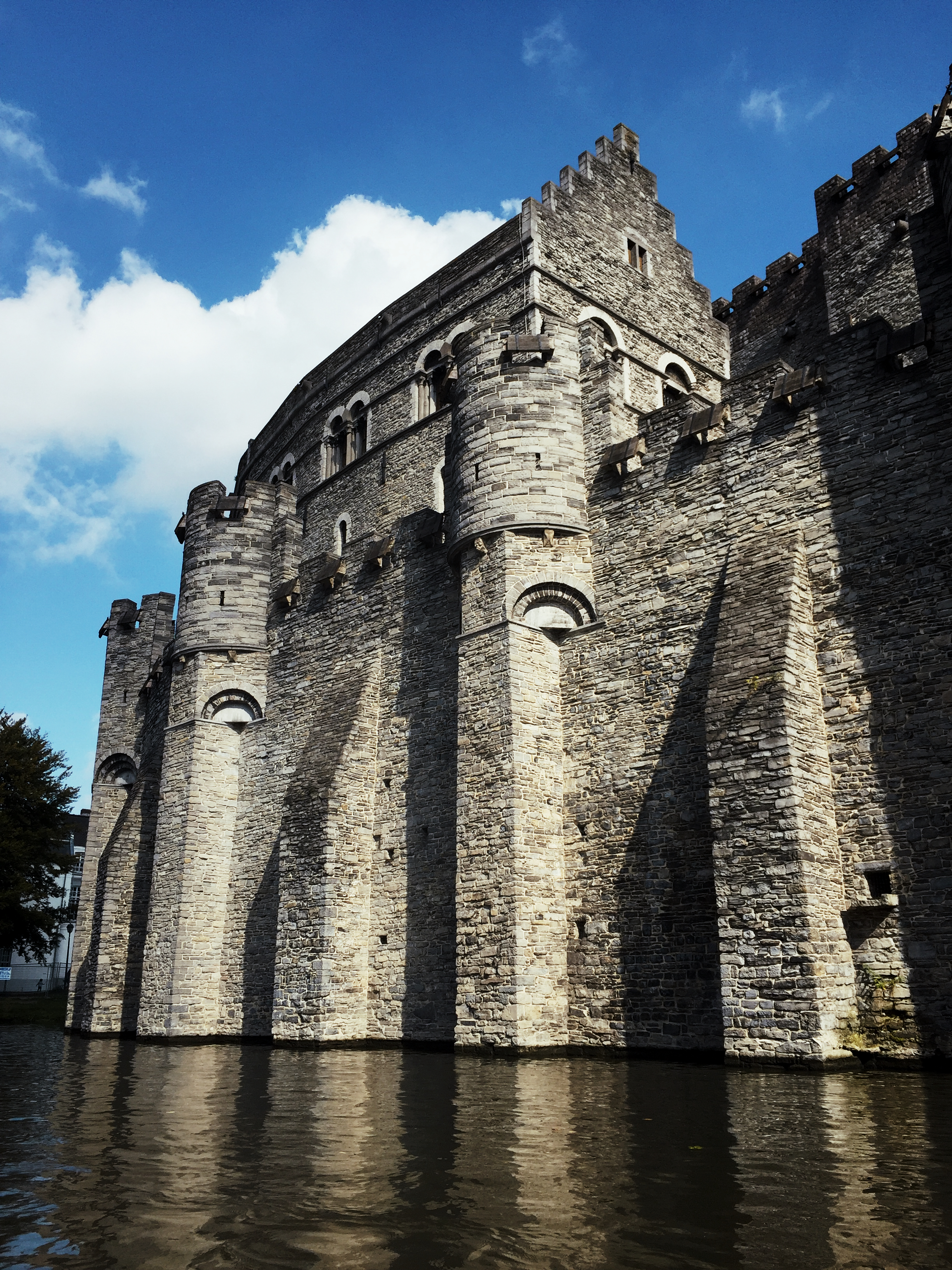 Castle with a moat!